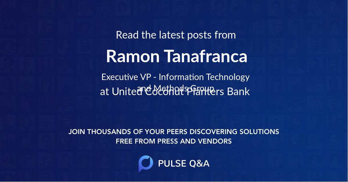 Ramon Tanafranca