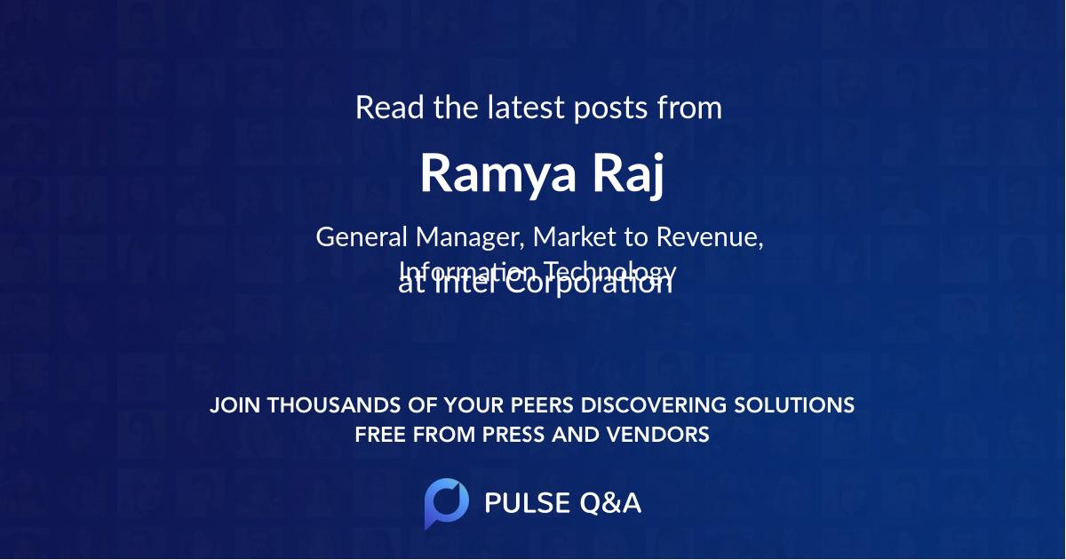 Ramya Raj