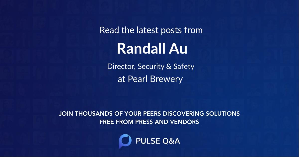 Randall Au