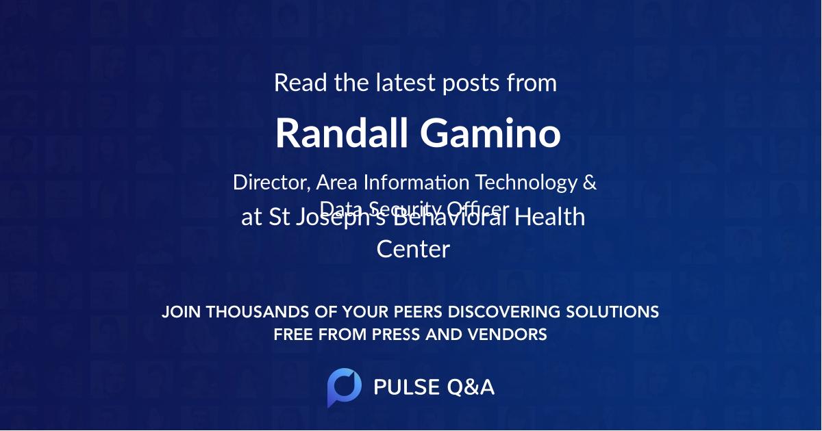 Randall Gamino