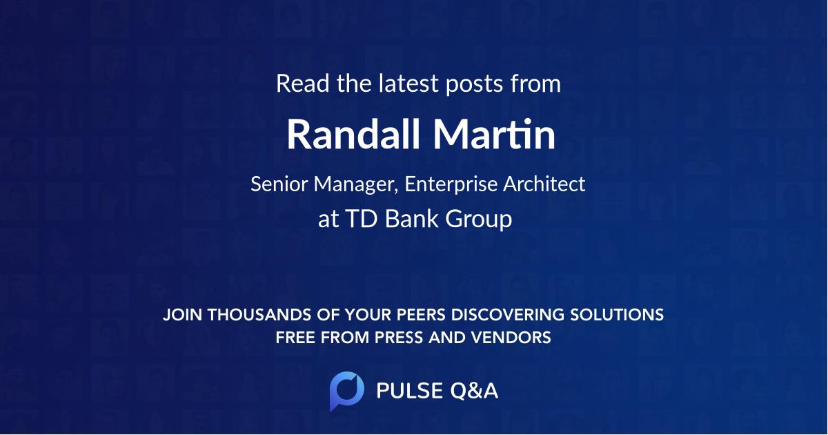 Randall Martin