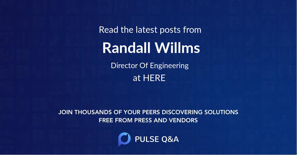 Randall Willms