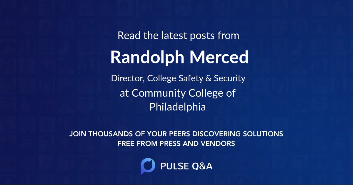 Randolph Merced