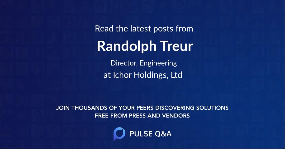Randolph Treur