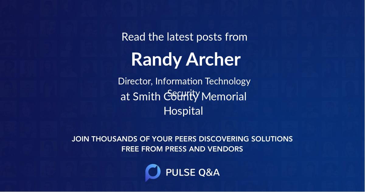 Randy Archer