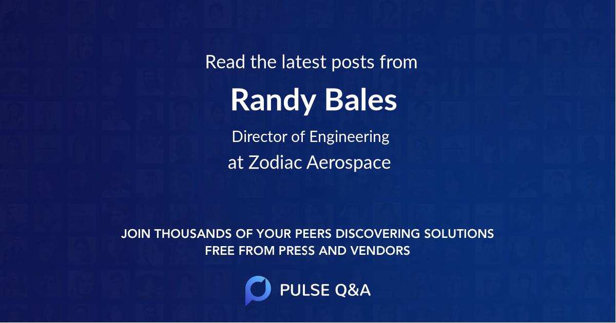 Randy Bales