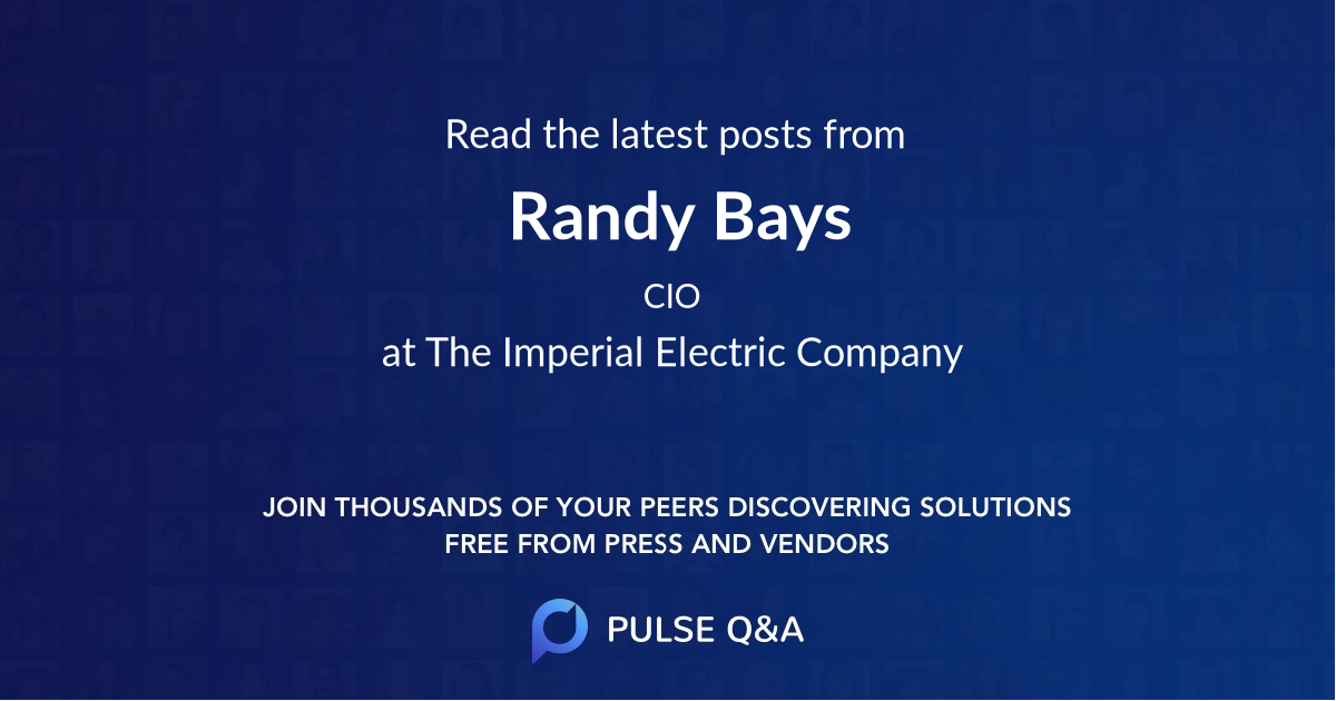 Randy Bays
