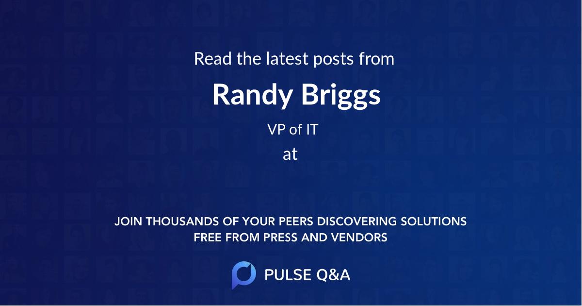 Randy Briggs