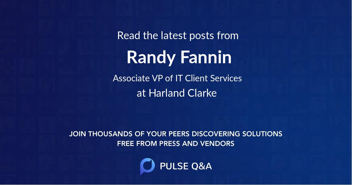 Randy Fannin