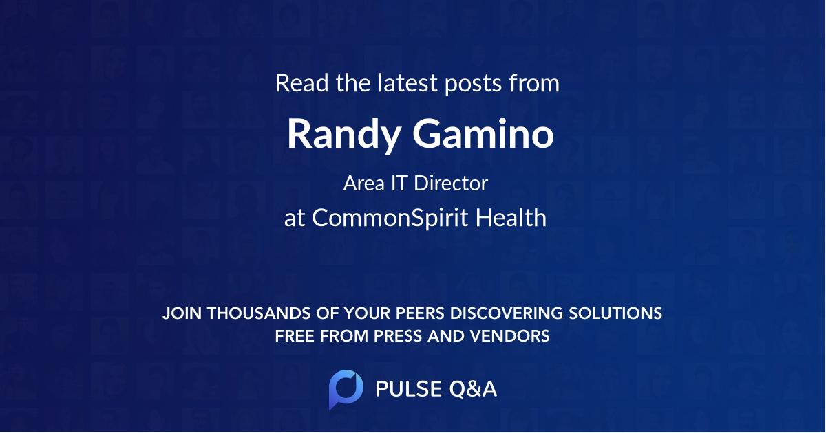 Randy Gamino