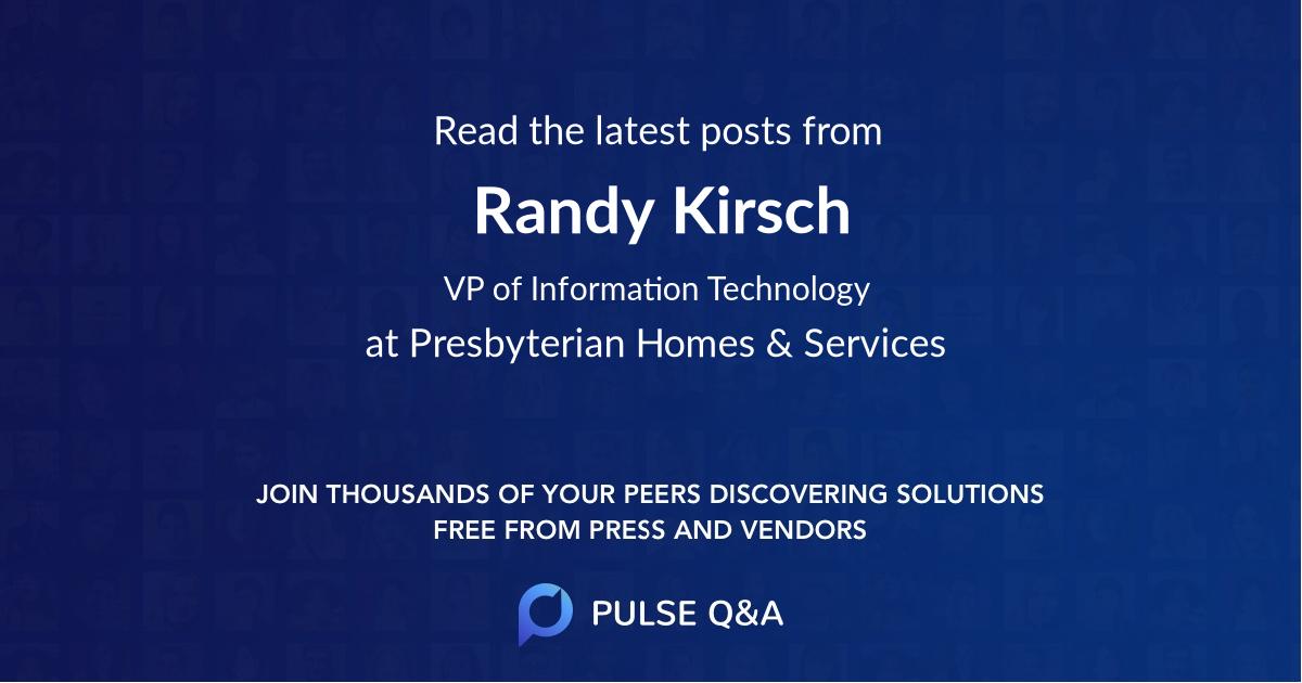 Randy Kirsch