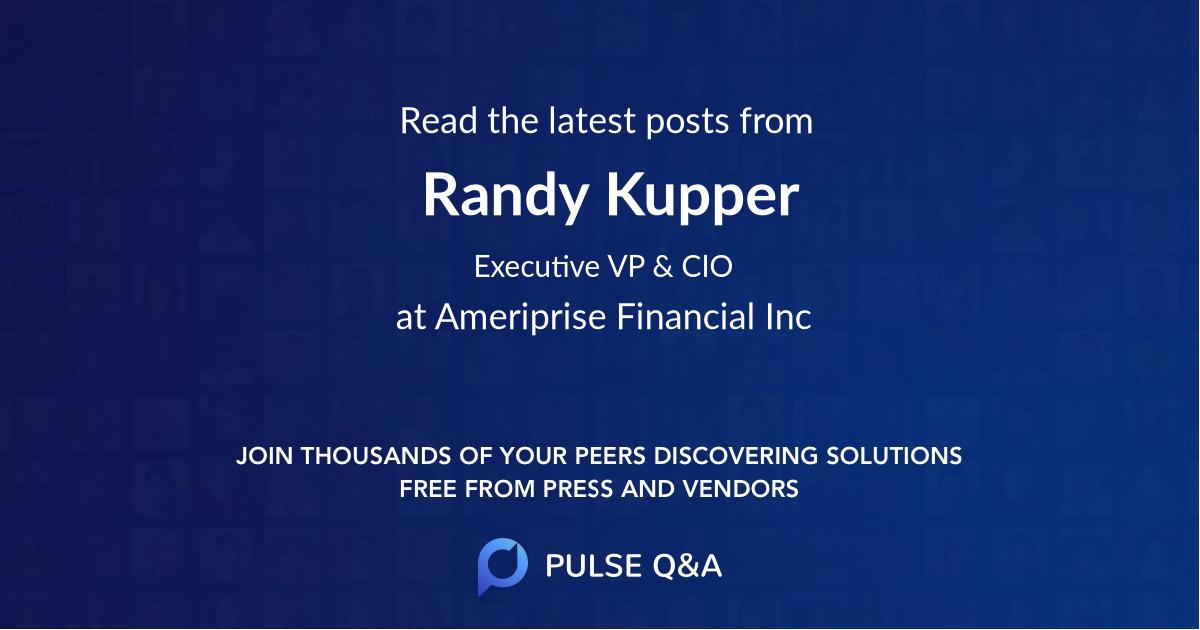 Randy Kupper