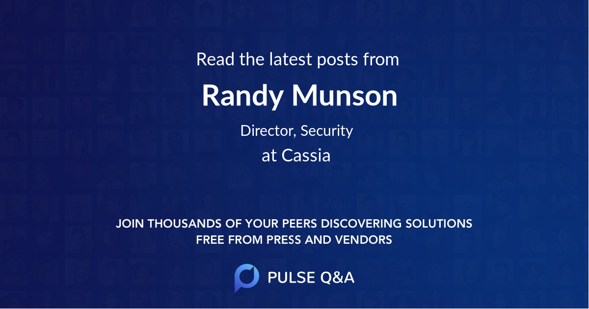 Randy Munson