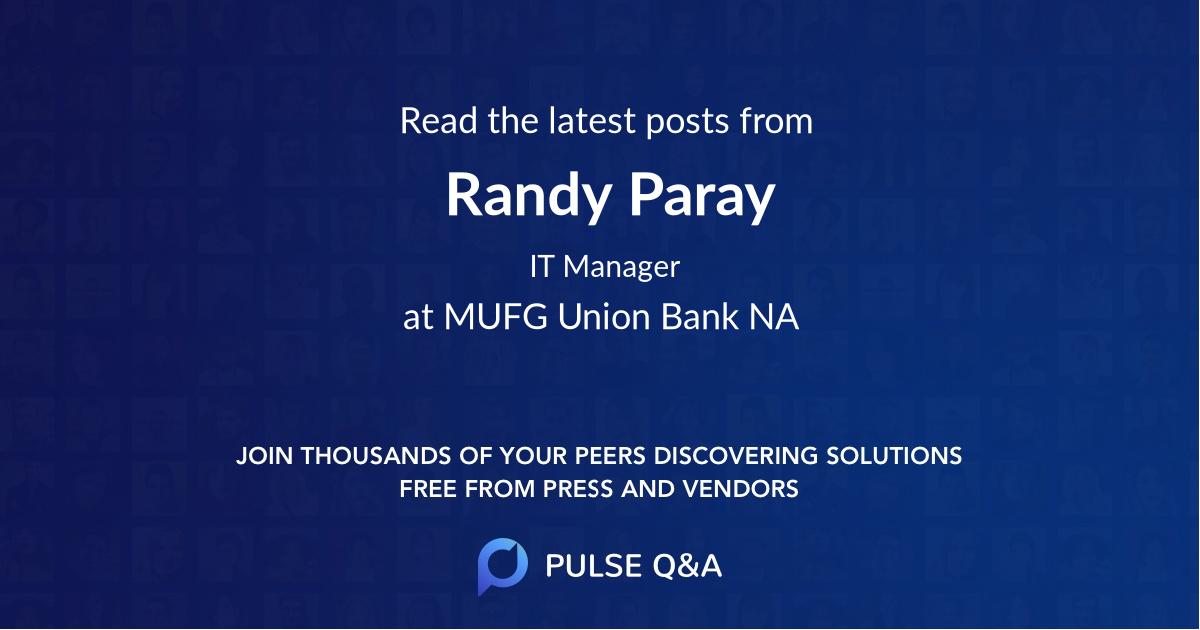 Randy Paray