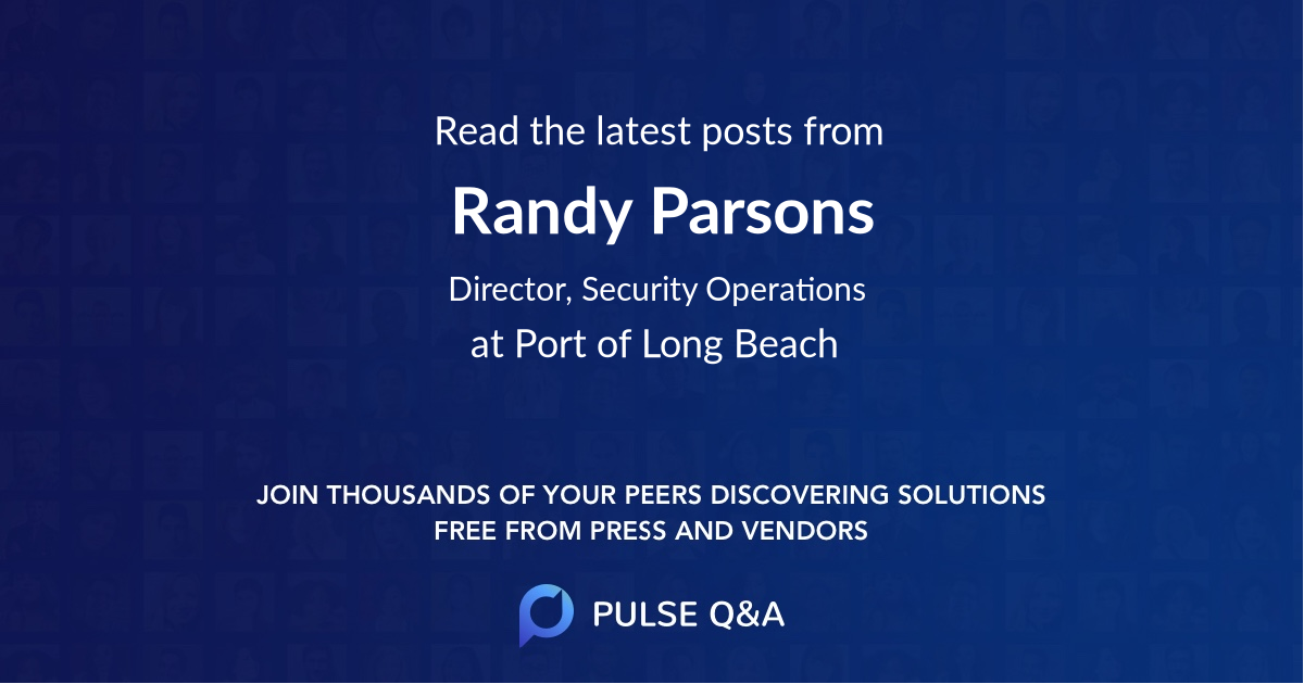 Randy Parsons