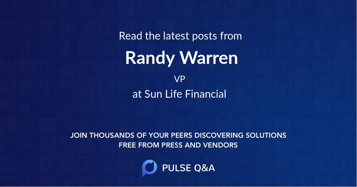 Randy Warren