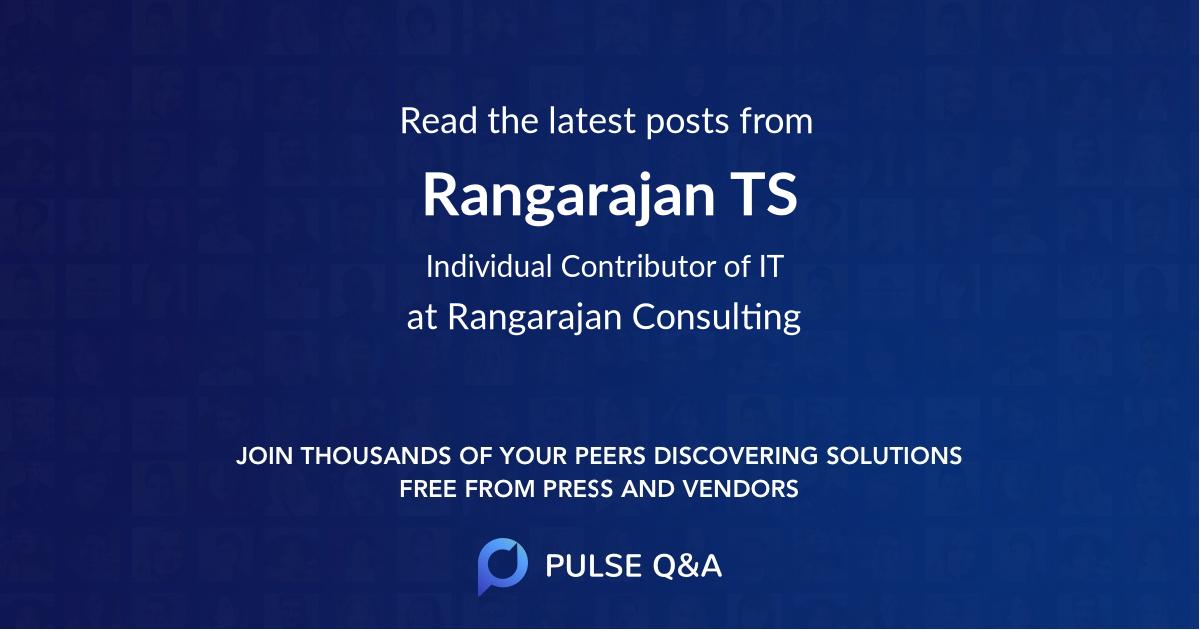 Rangarajan TS