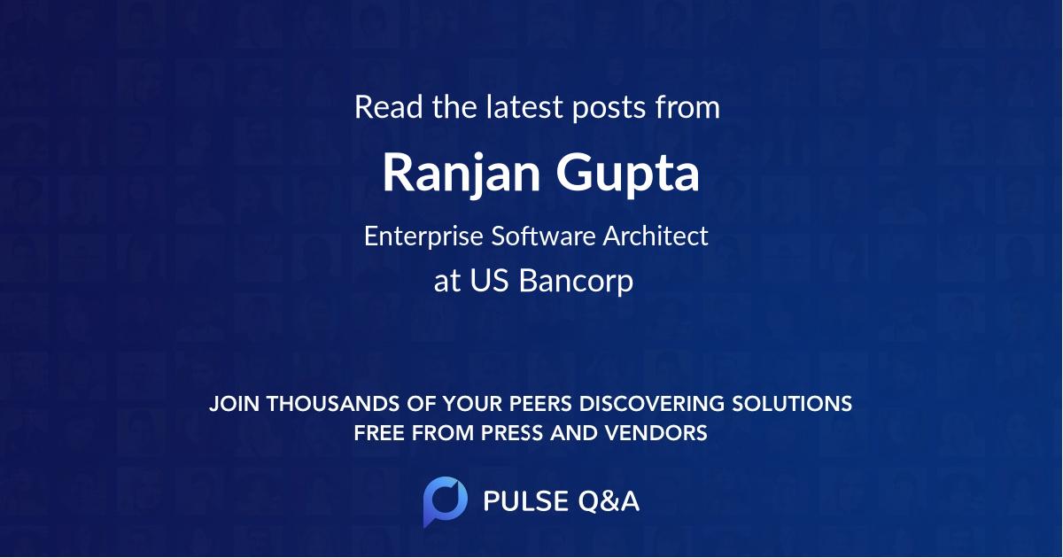 Ranjan Gupta