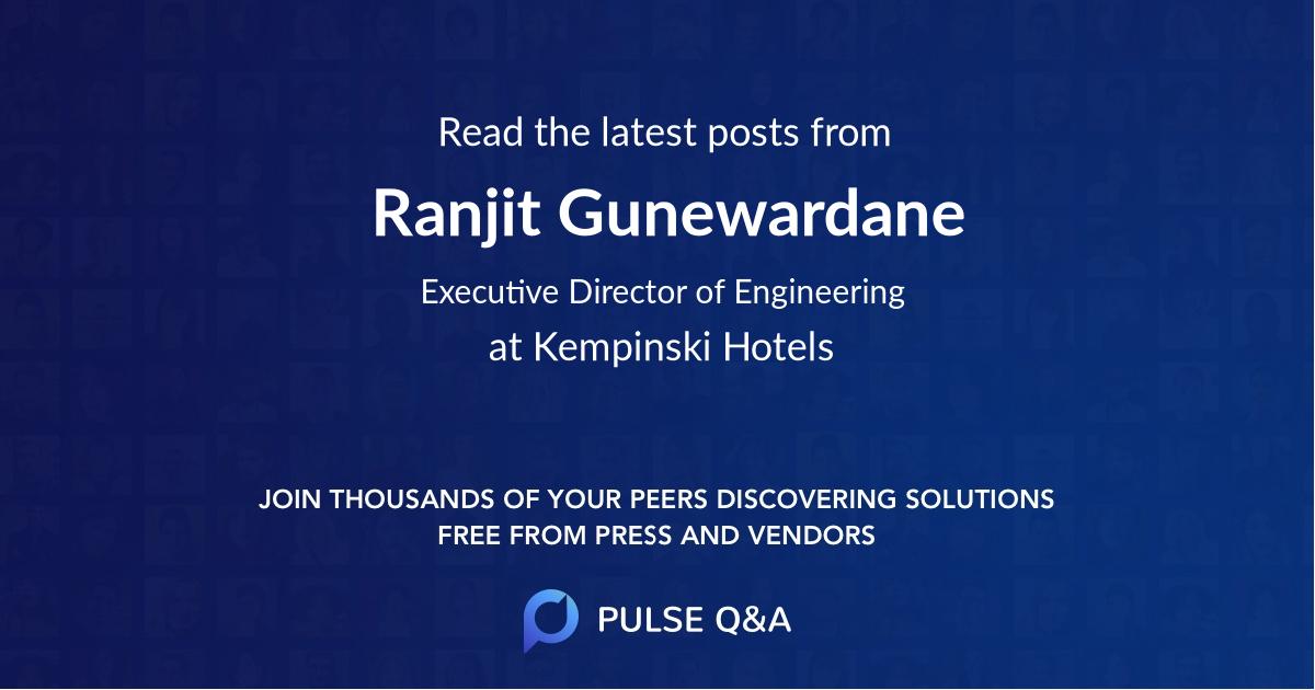 Ranjit Gunewardane