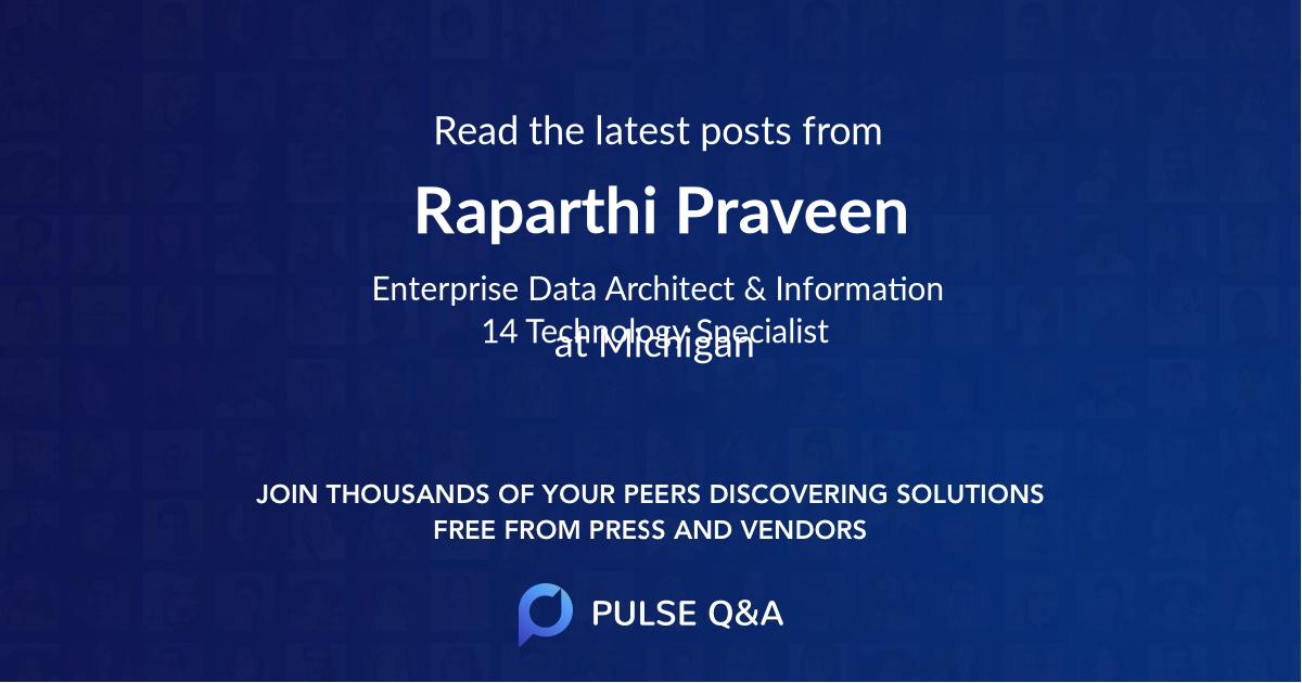 Raparthi Praveen
