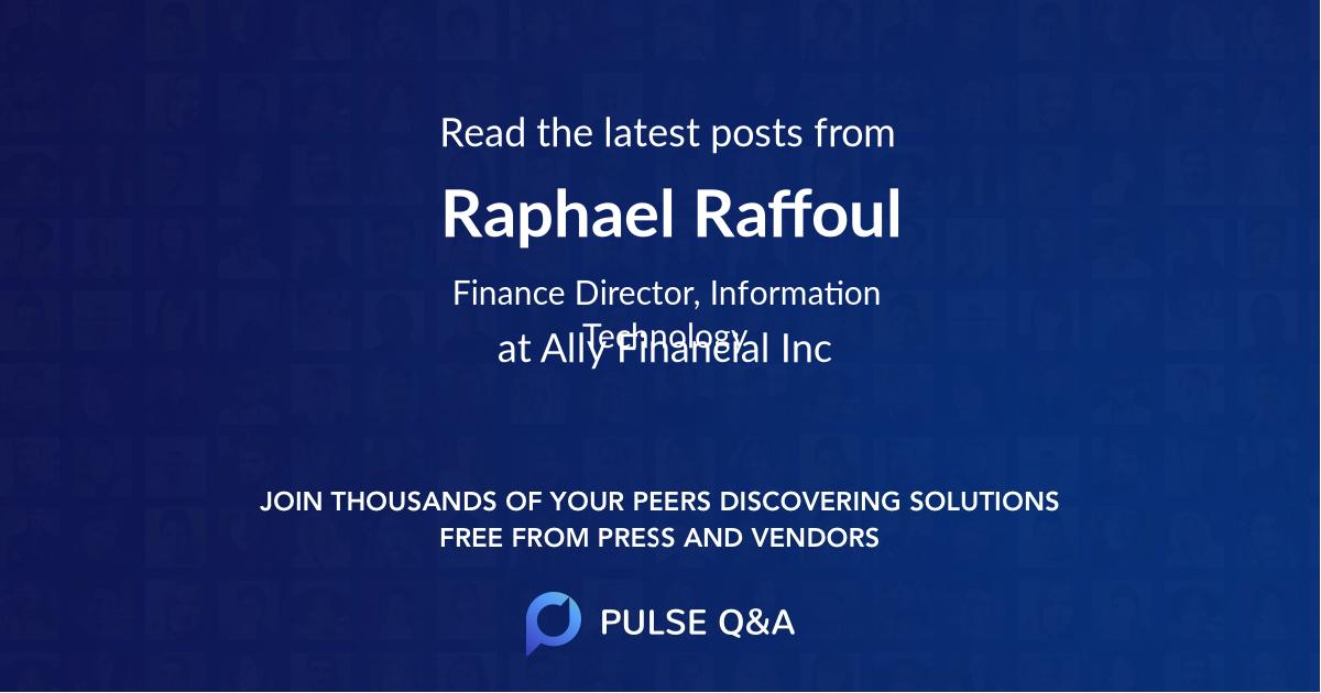 Raphael Raffoul