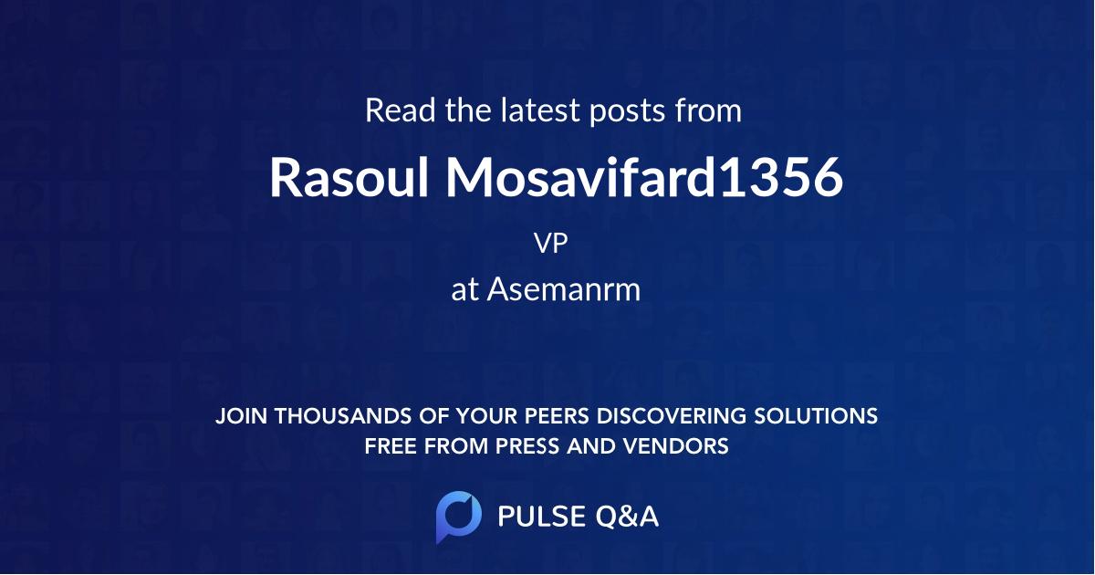 Rasoul Mosavifard1356