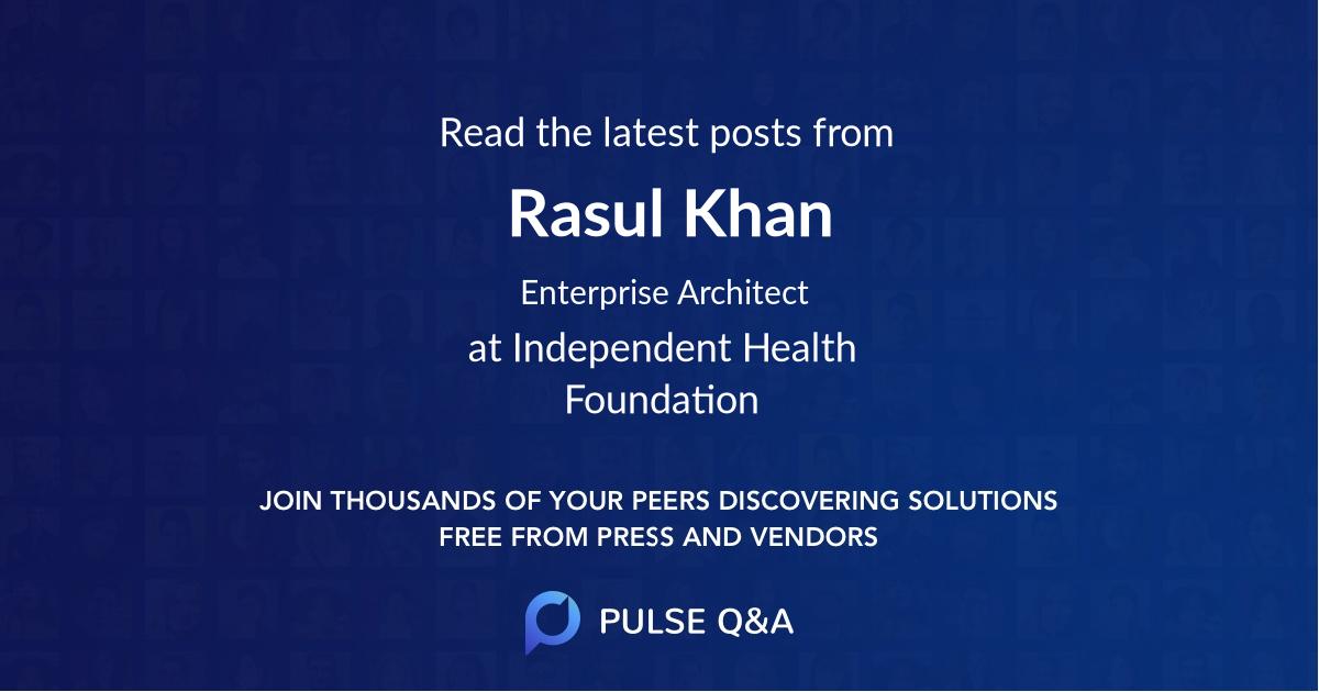 Rasul Khan