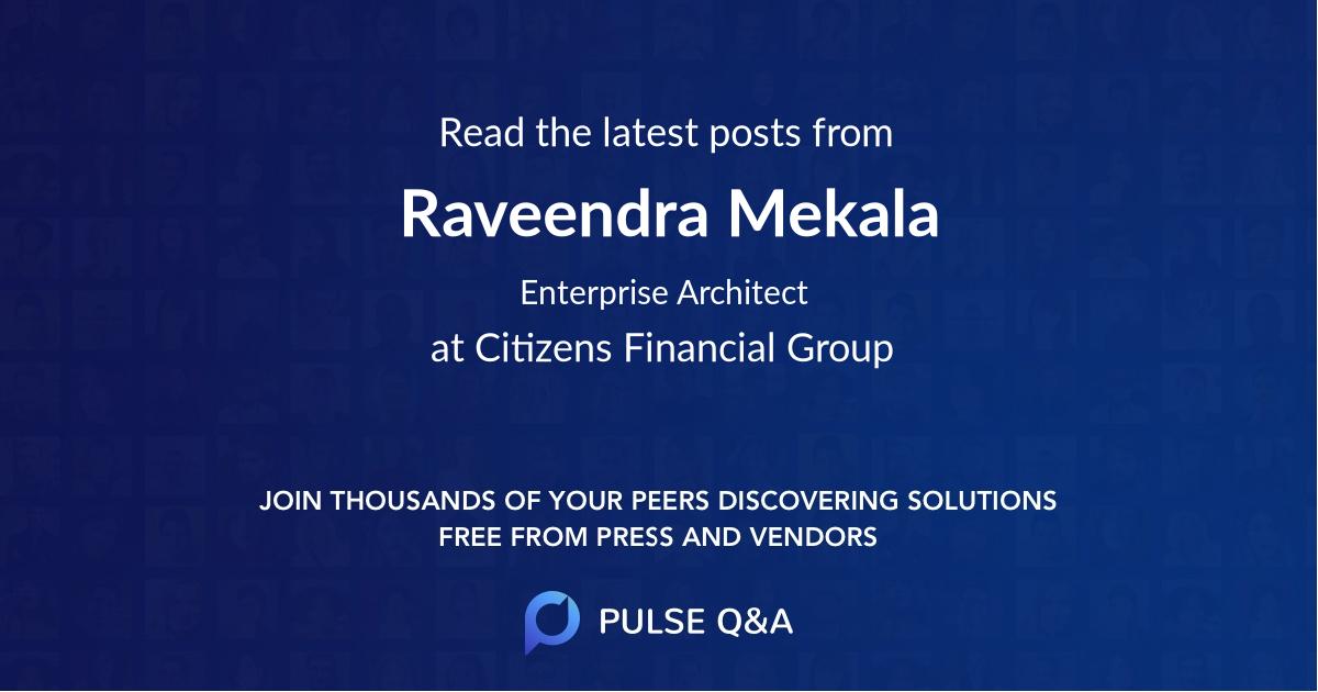 Raveendra Mekala