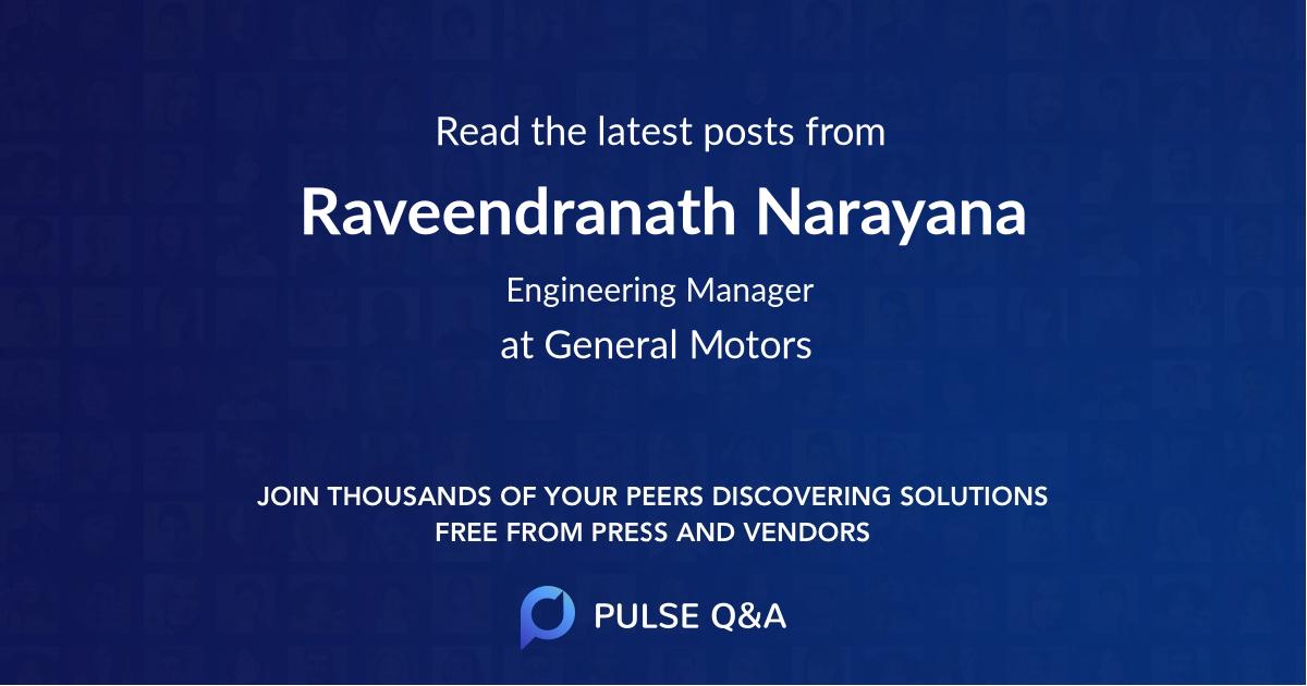 Raveendranath Narayana