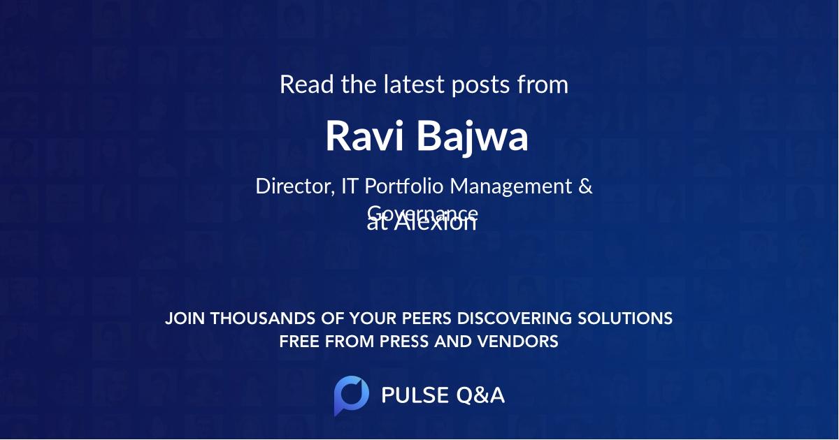 Ravi Bajwa