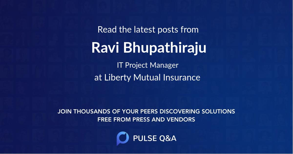 Ravi Bhupathiraju