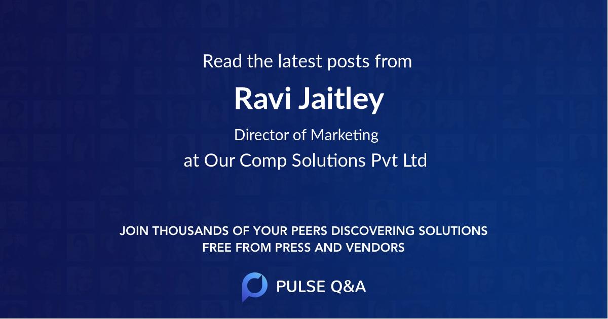 Ravi Jaitley
