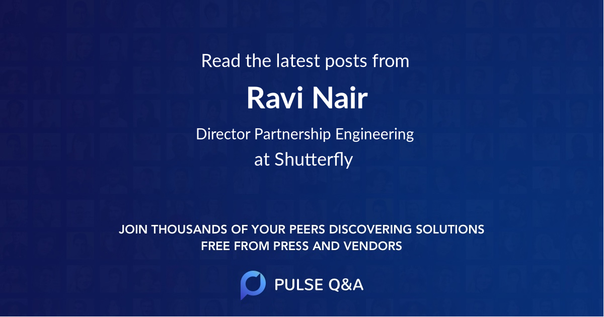 Ravi Nair