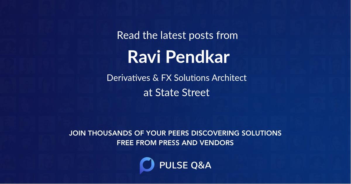 Ravi Pendkar