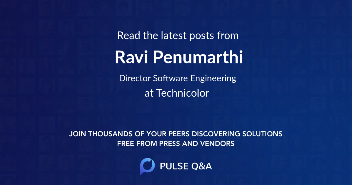 Ravi Penumarthi