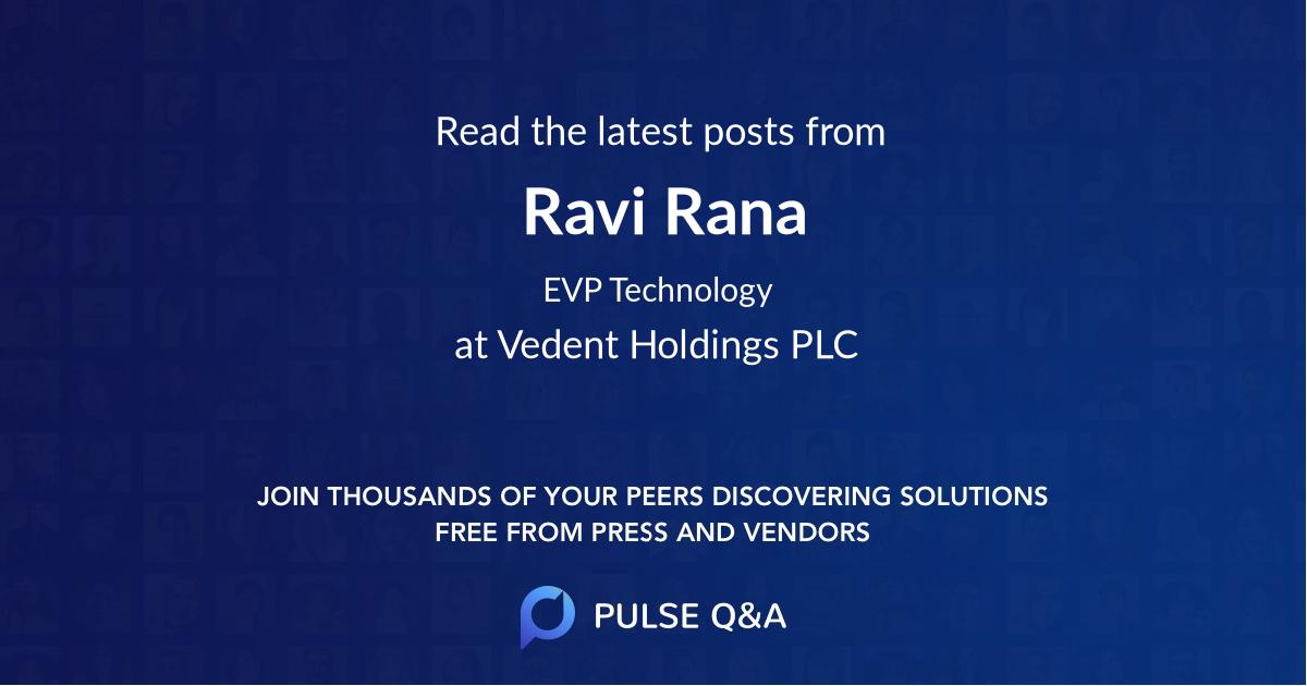 Ravi Rana