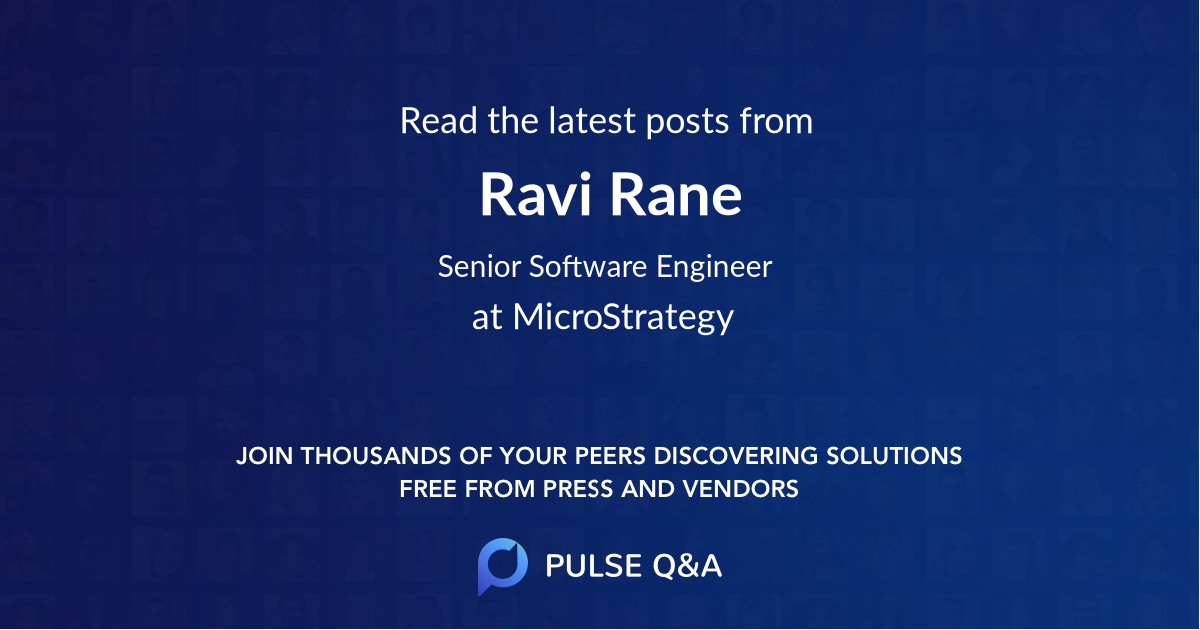 Ravi Rane