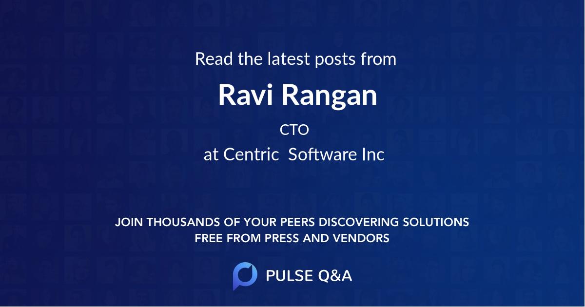 Ravi Rangan