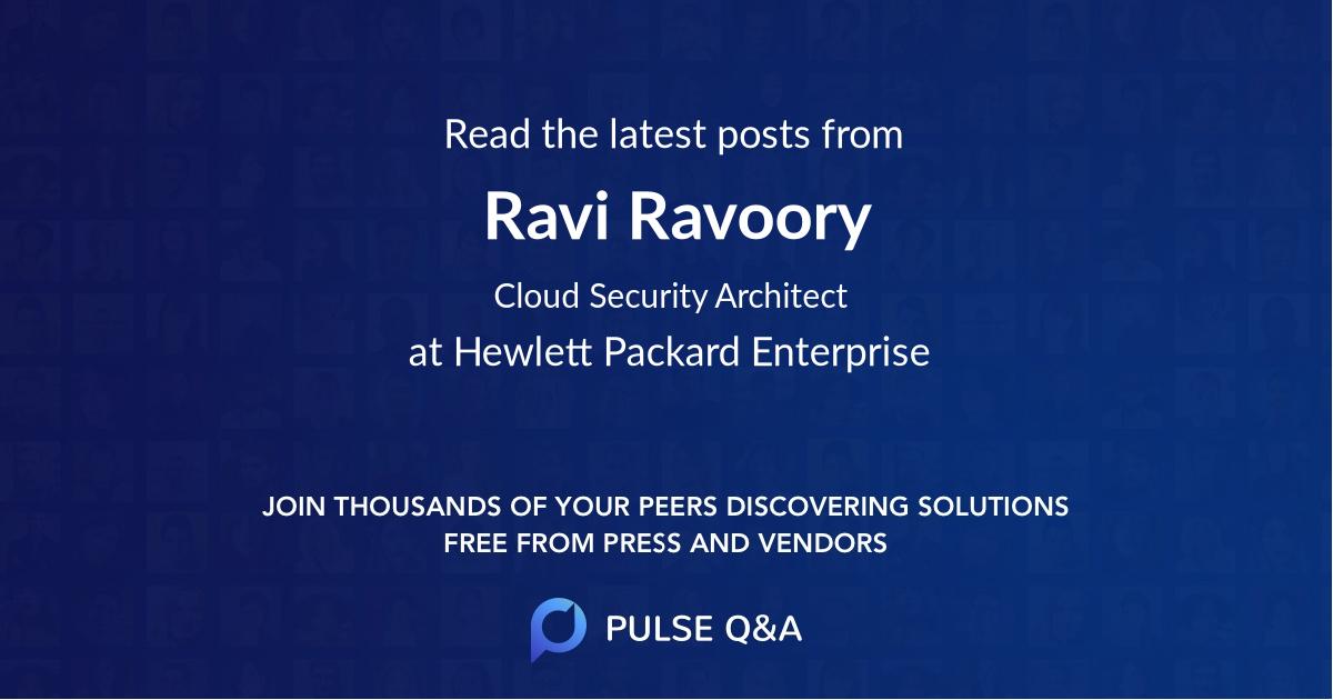Ravi Ravoory