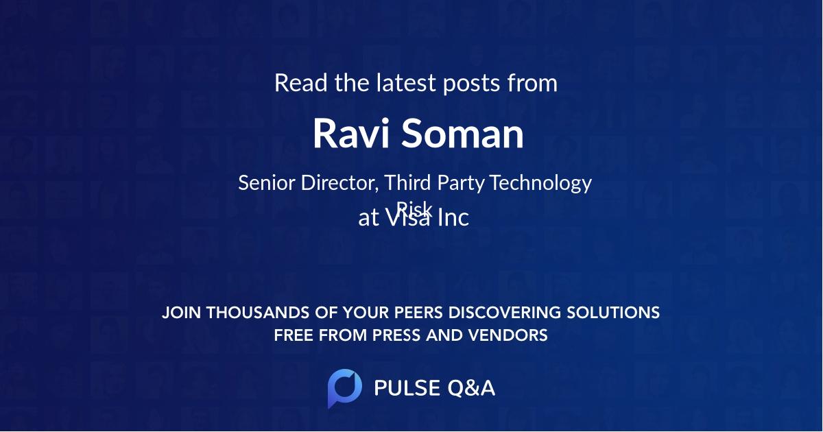Ravi Soman