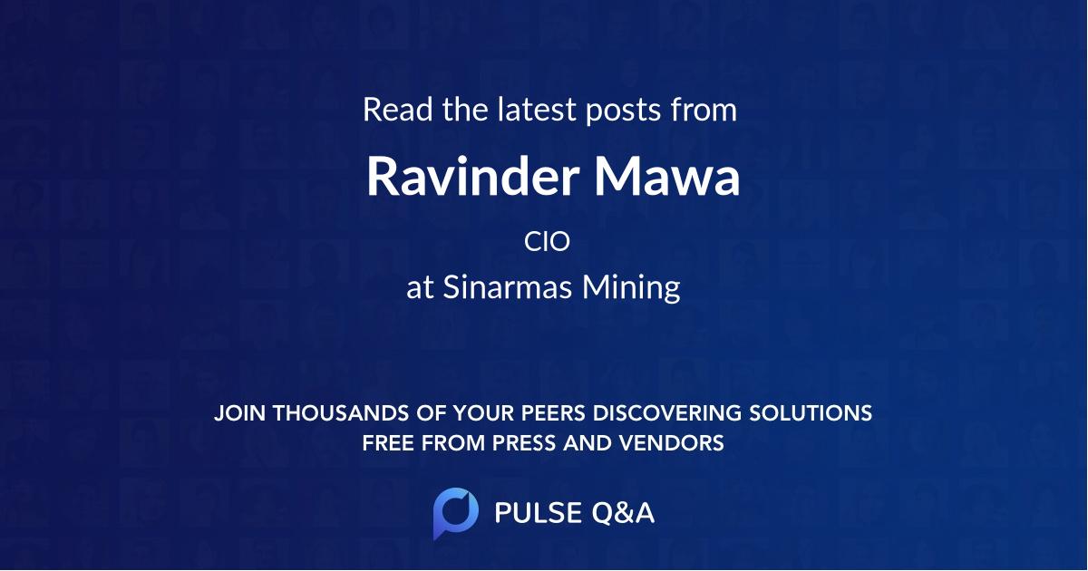 Ravinder Mawa