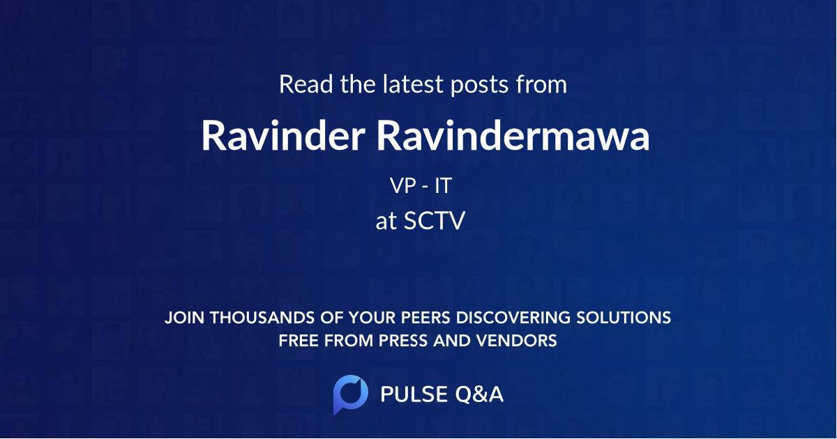 Ravinder Ravindermawa
