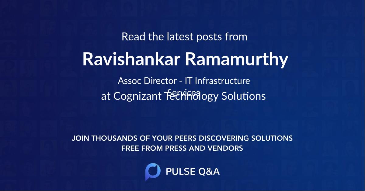 Ravishankar Ramamurthy