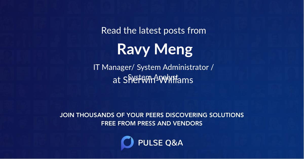 Ravy Meng