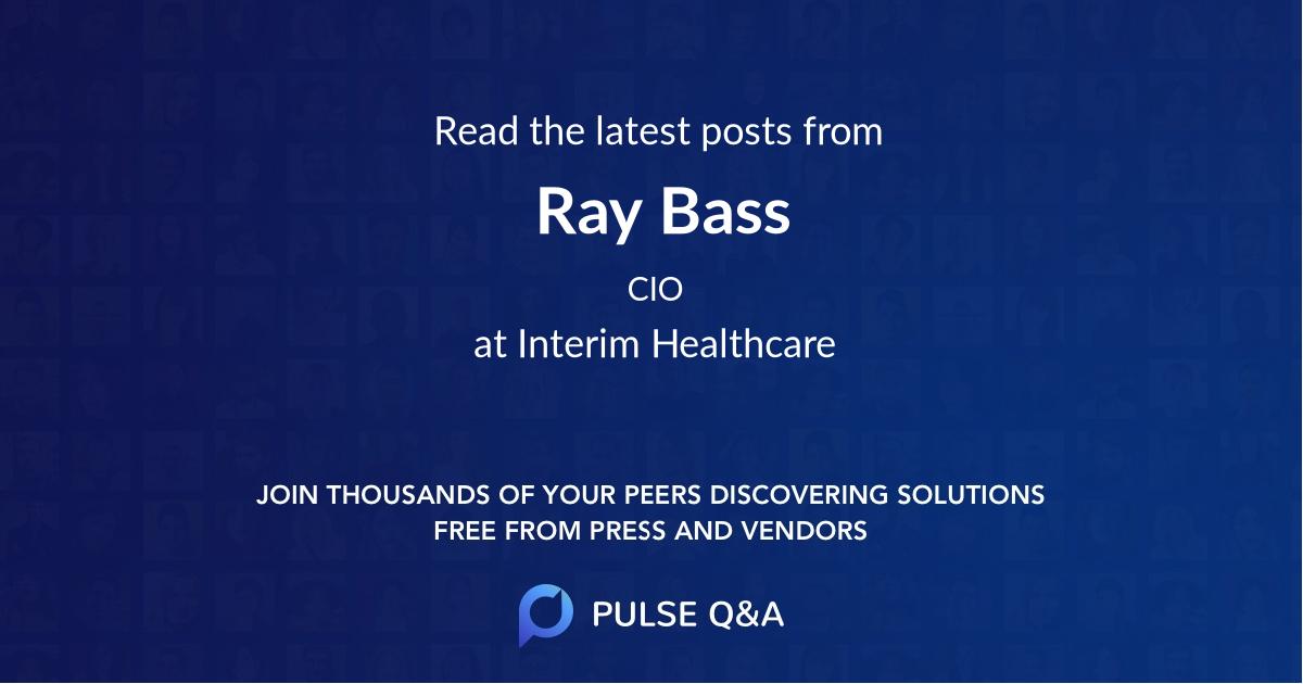 Ray Bass