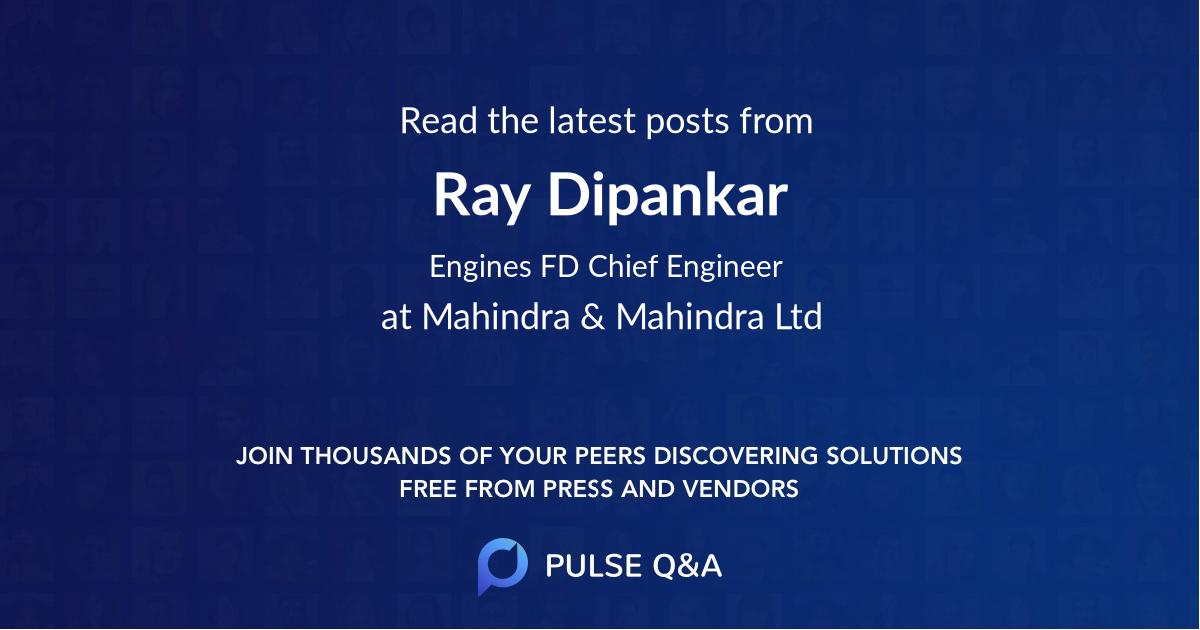 Ray Dipankar