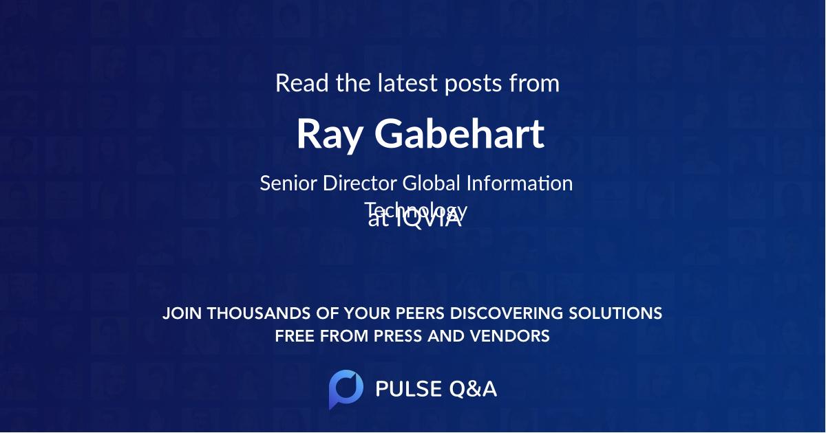 Ray Gabehart
