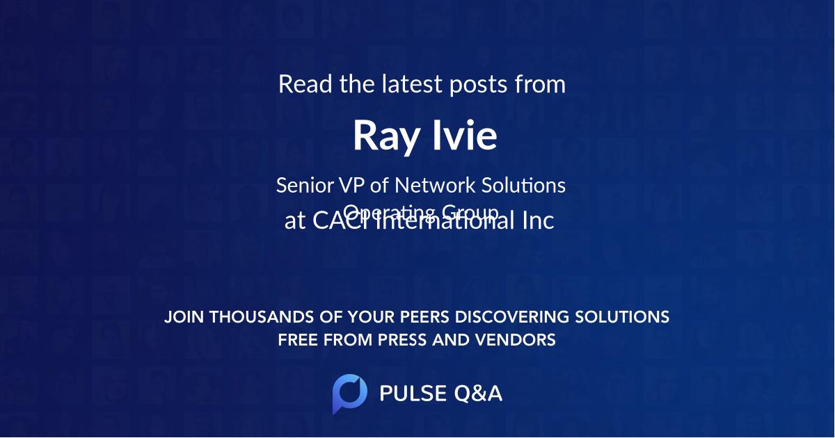 Ray Ivie