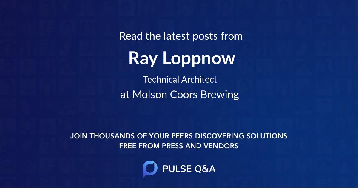 Ray Loppnow