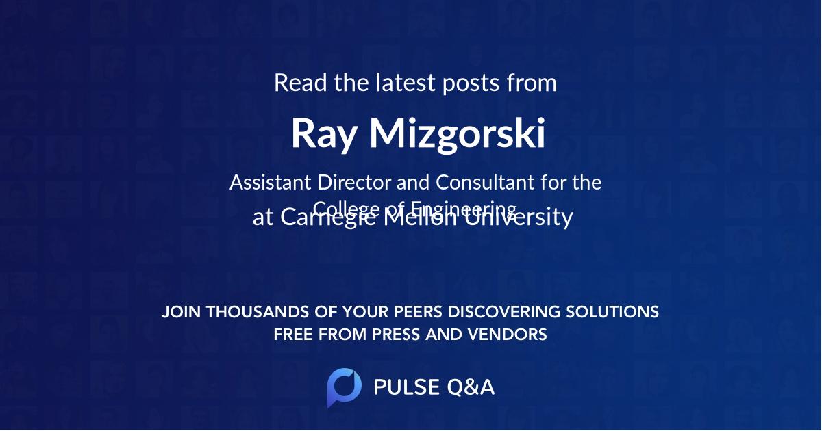Ray Mizgorski